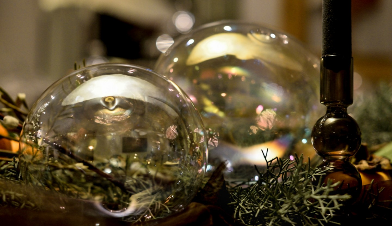 Στολίζοντας το Χριστουγεννιάτικο Τραπέζι