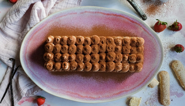 Tiramisu με φράουλες