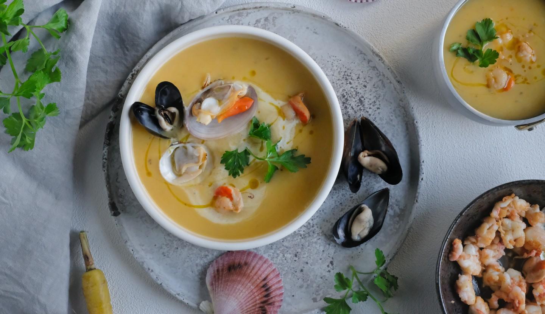 Σούπα με όστρακα