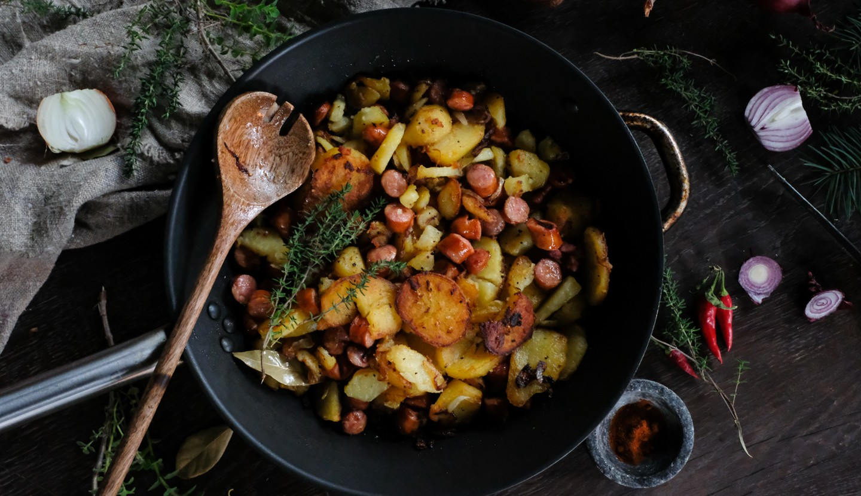 Bratkartoffeln - Γερμανικές πατάτες
