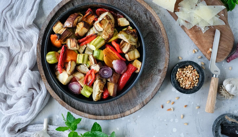 Τραγανά λαχανικά στον φούρνο