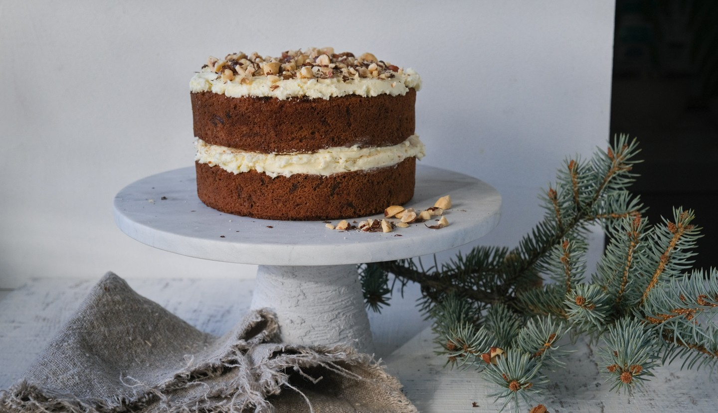 Carrot Tea Cake - Birthday Cake