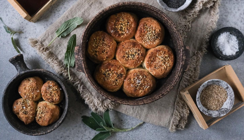 Αλμυρά μπισκότα βουτύρου με chèvre