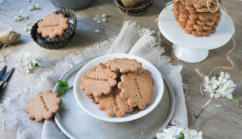 Μπισκότα Digestive με φαγόπυρο και λάδι καρύδας